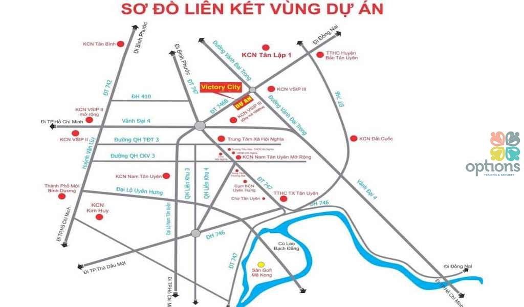 Đất dự án tại Bắc Tân Uyên