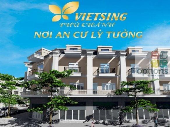 Khu nhà ở Viet Sing Phú Chánh